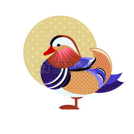 Mandarin Duck clipart #2, Download drawings