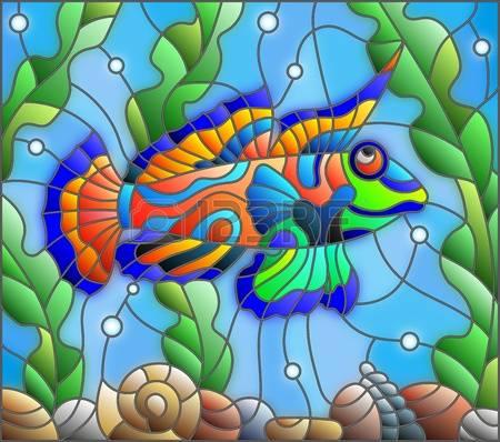 Mandarinfish clipart #5, Download drawings