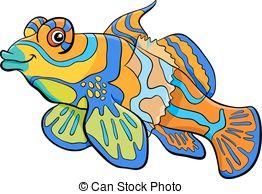Mandarinfish clipart #6, Download drawings