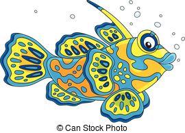 Mandarinfish clipart #15, Download drawings