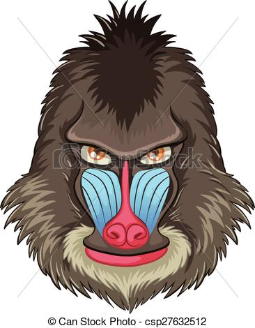 Mandrill clipart #17, Download drawings