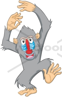 Mandrill clipart #15, Download drawings