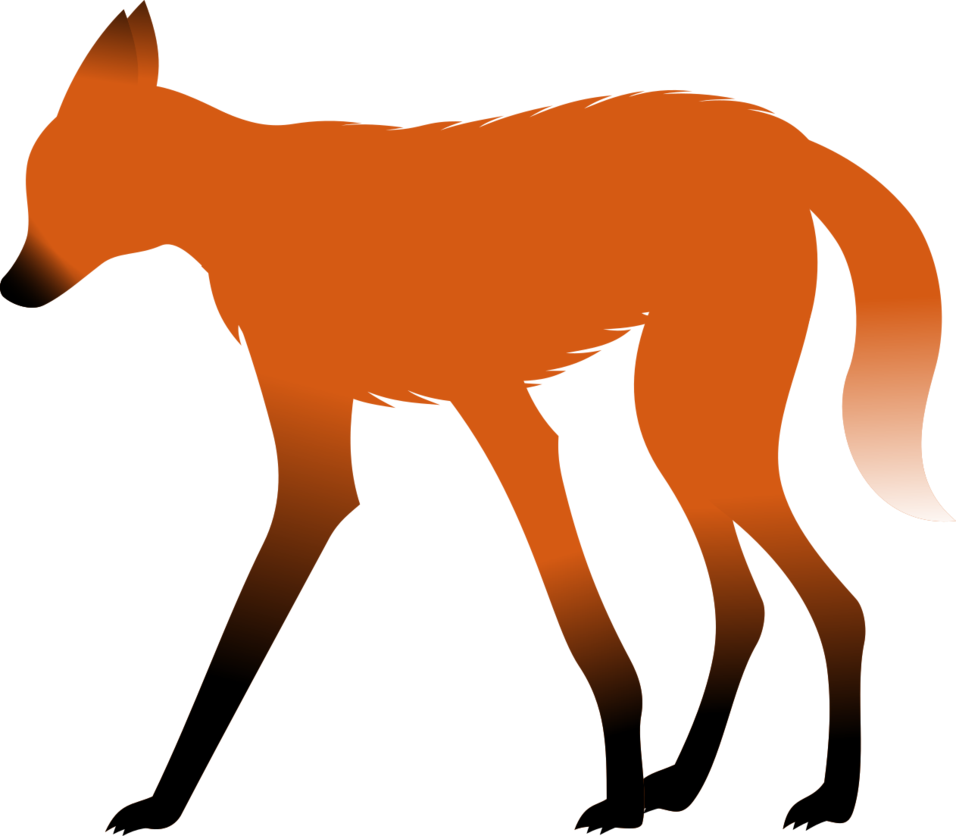 Maned Wolf clipart #3, Download drawings
