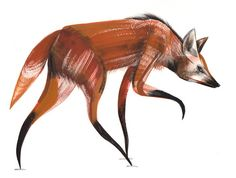 Maned Wolf clipart #4, Download drawings