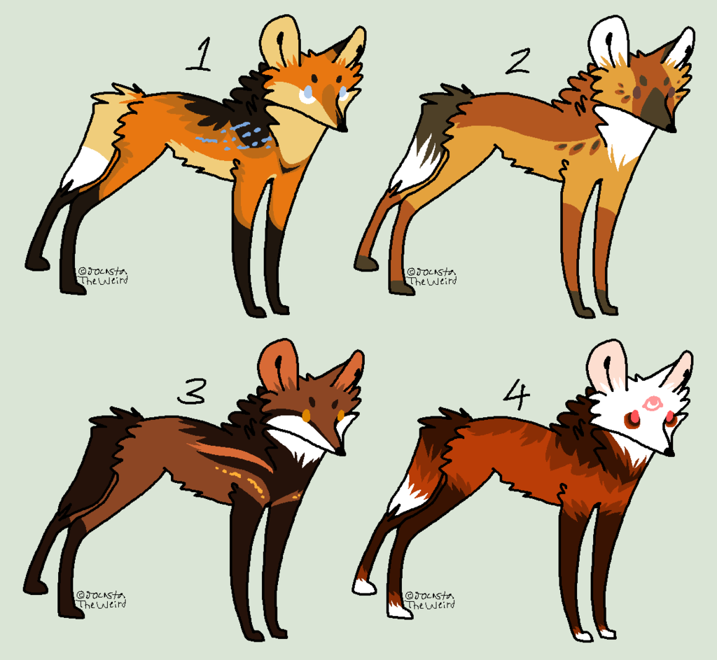 Maned Wolf clipart #14, Download drawings