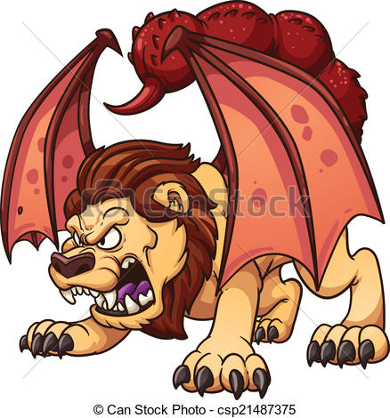 Manticore clipart #18, Download drawings