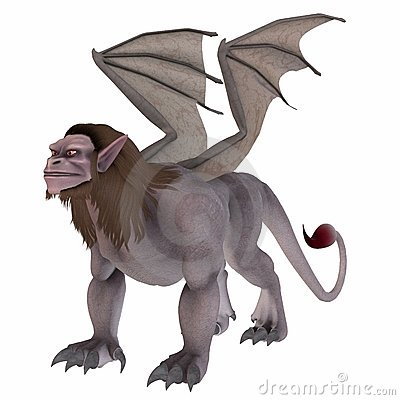 Manticore clipart #15, Download drawings