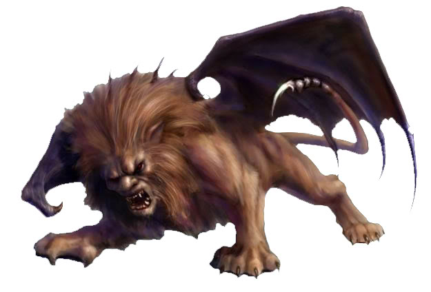 Manticore clipart #4, Download drawings