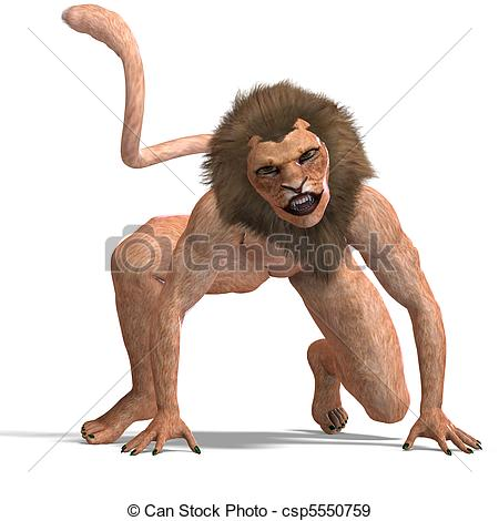 Manticore clipart #3, Download drawings