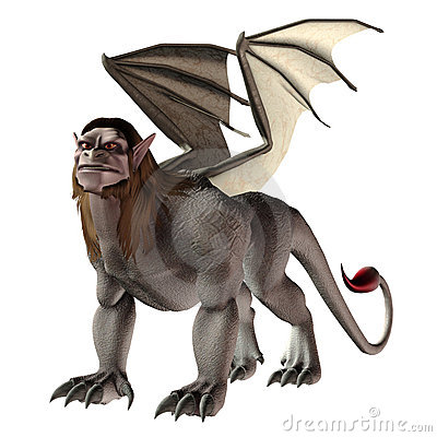 Manticore clipart #5, Download drawings