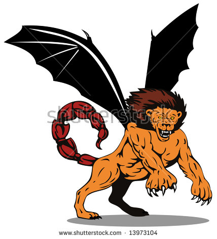Manticore clipart #19, Download drawings