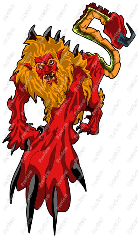Manticore clipart #20, Download drawings