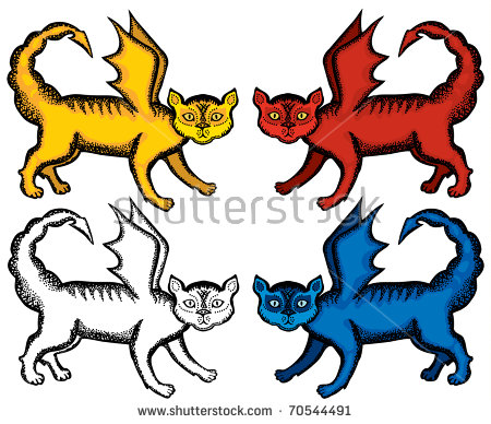 Manticore clipart #13, Download drawings