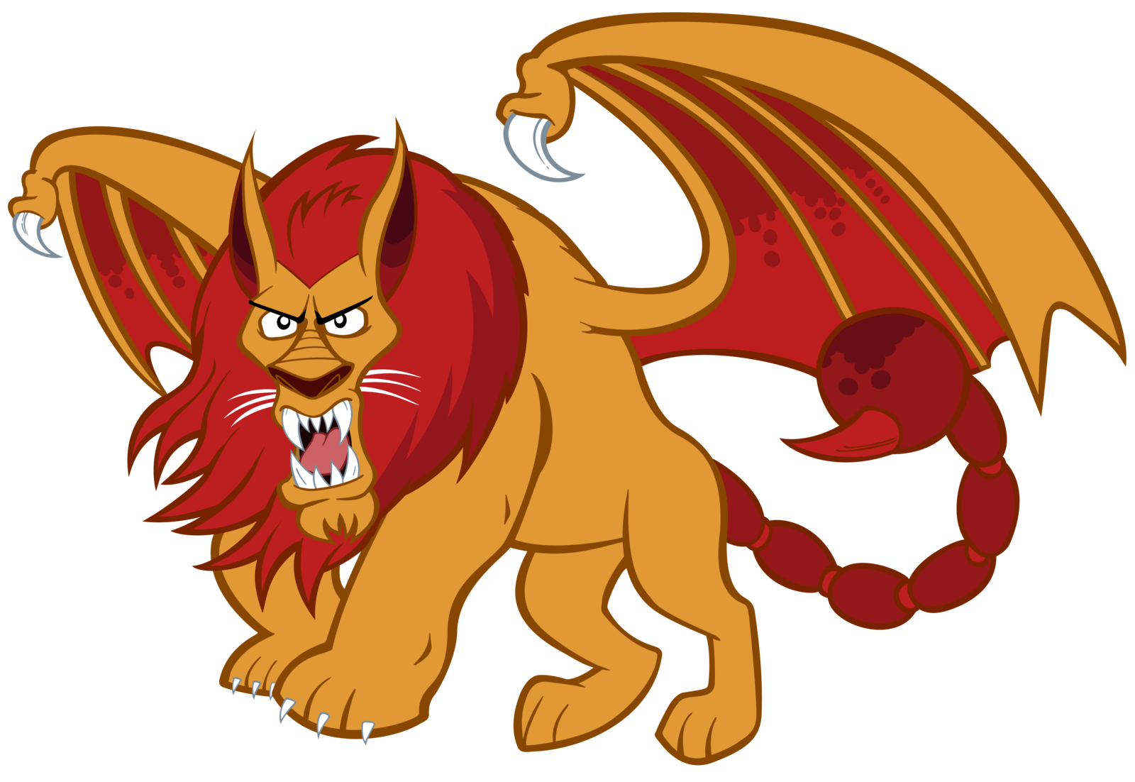 Manticore clipart #11, Download drawings