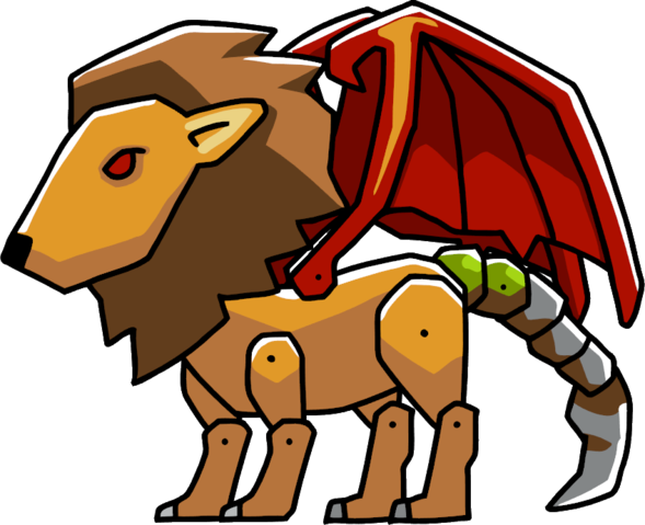 Manticore clipart #8, Download drawings