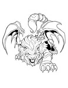 Manticore coloring #11, Download drawings