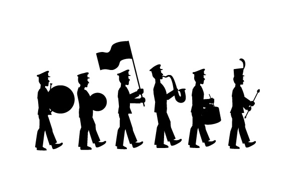 marching band svg #32, Download drawings