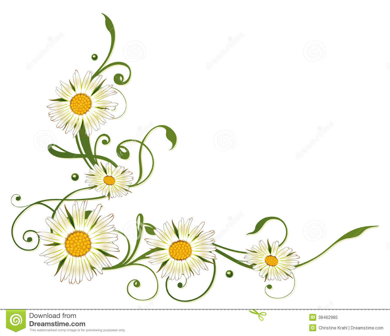 Marguerite clipart #7, Download drawings