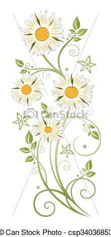 Marguerite clipart #6, Download drawings