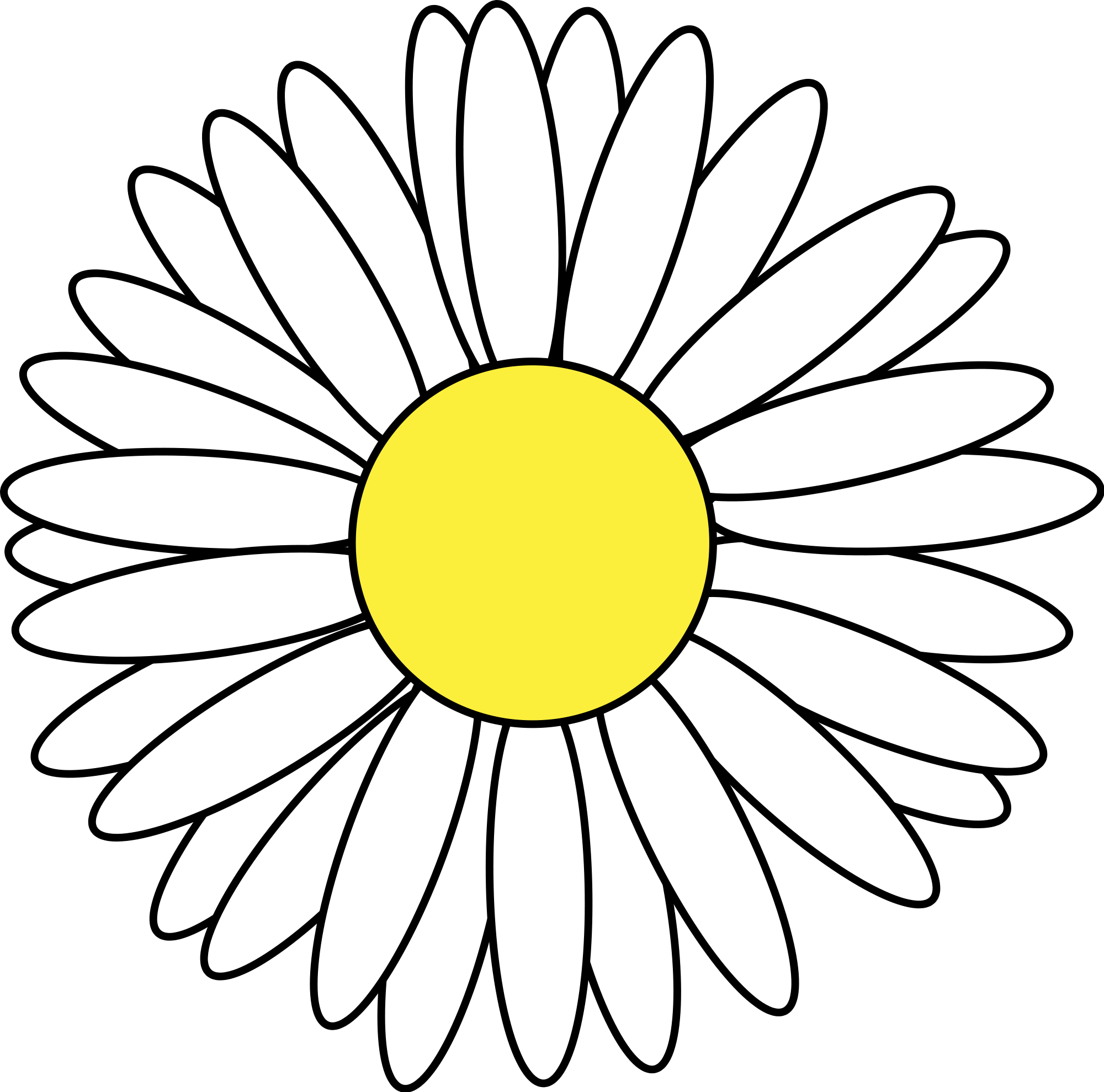 Marguerite Daisy clipart #5, Download drawings