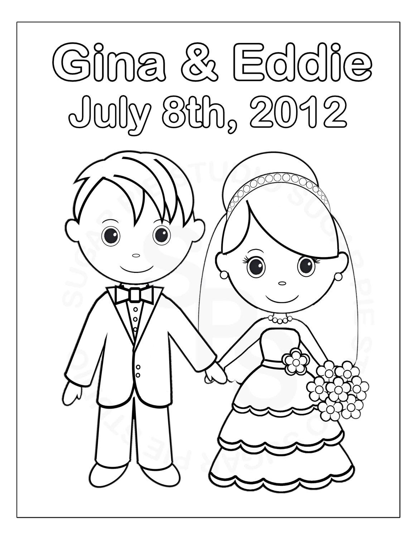 Bride coloring #9, Download drawings