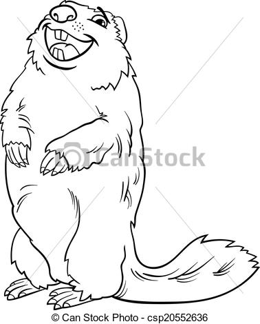 Marmot clipart #2, Download drawings