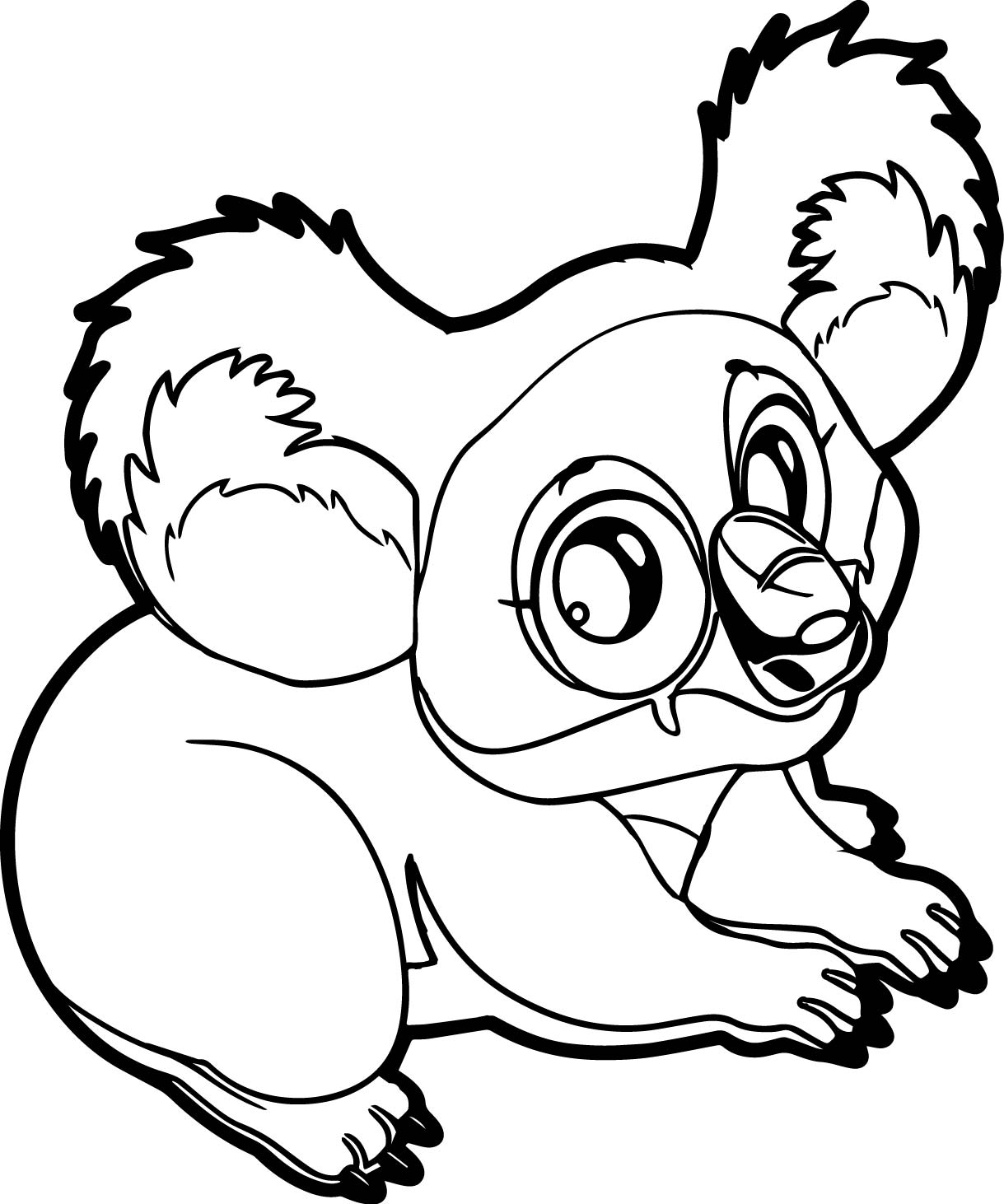 Marsupial coloring #1, Download drawings
