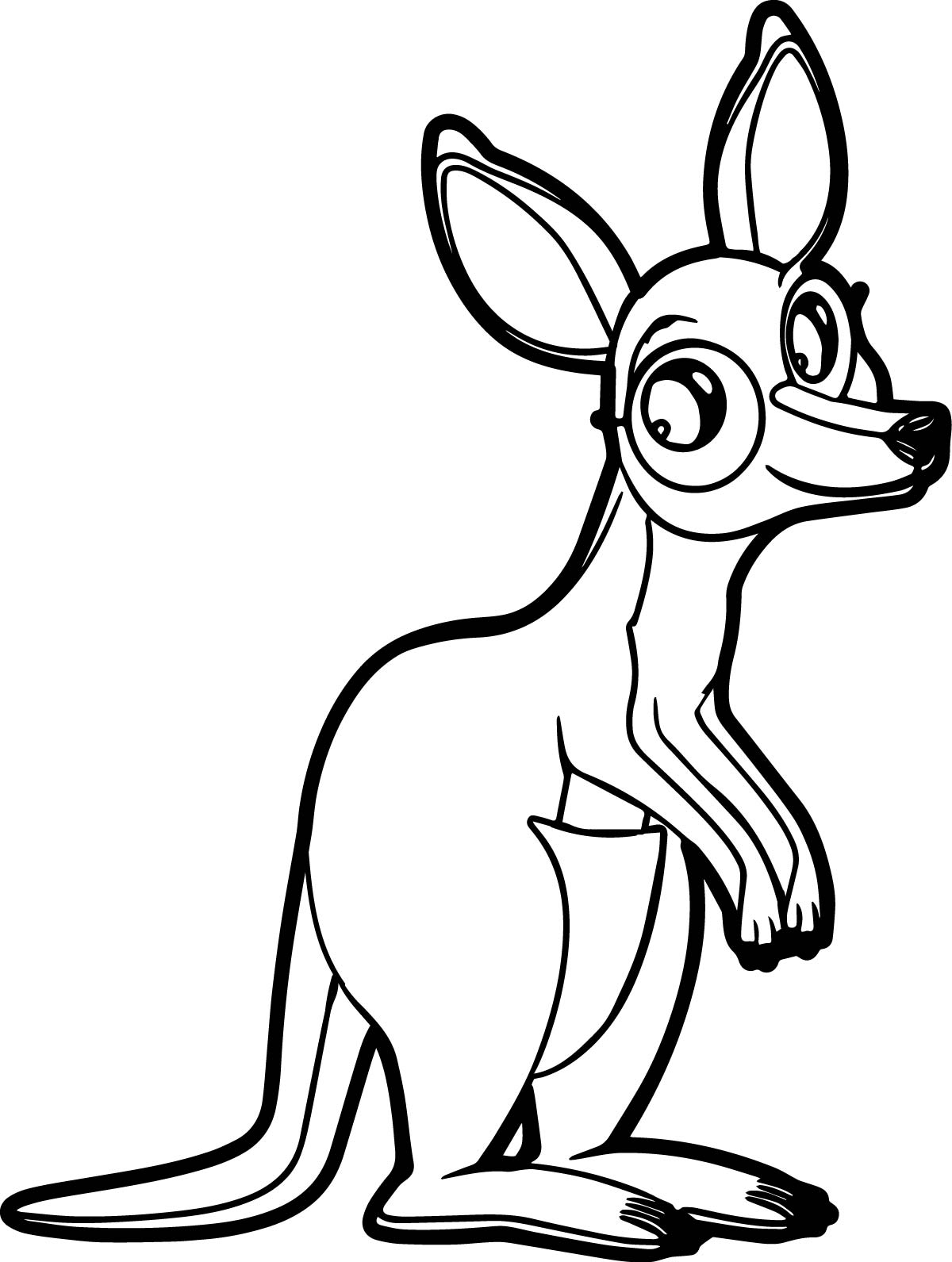 Marsupial coloring #2, Download drawings
