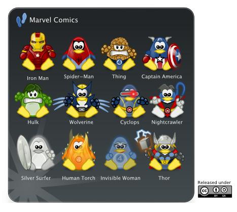 Marvel Comics svg #3, Download drawings