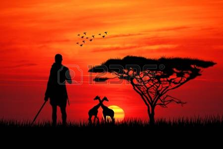 Masai Mara clipart #6, Download drawings