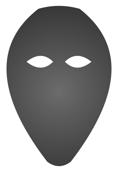 Mask svg #18, Download drawings