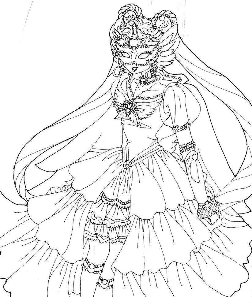 Masquerade coloring #3, Download drawings