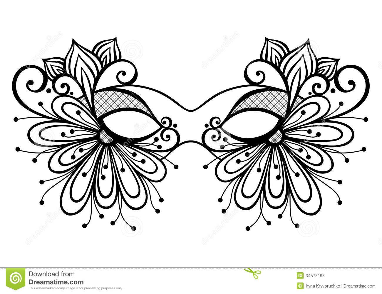 Masquerade coloring #9, Download drawings