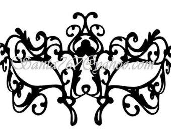 Masquerade svg #19, Download drawings