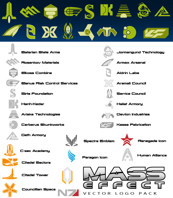 Mass Effect svg #1, Download drawings