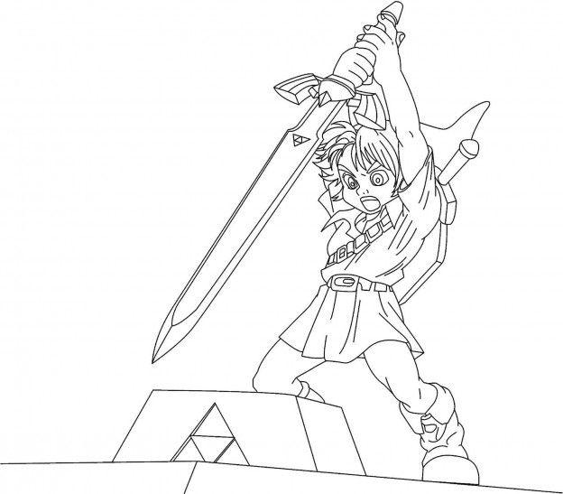 Master Sword coloring #14, Download drawings