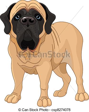Mastiff clipart #19, Download drawings