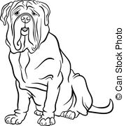 Mastiff clipart #13, Download drawings