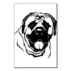 Mastiff clipart #8, Download drawings