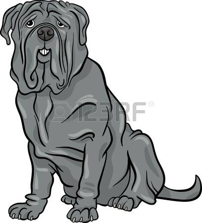 Mastiff clipart #2, Download drawings