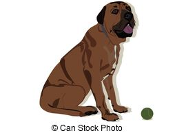 Mastiff clipart #11, Download drawings