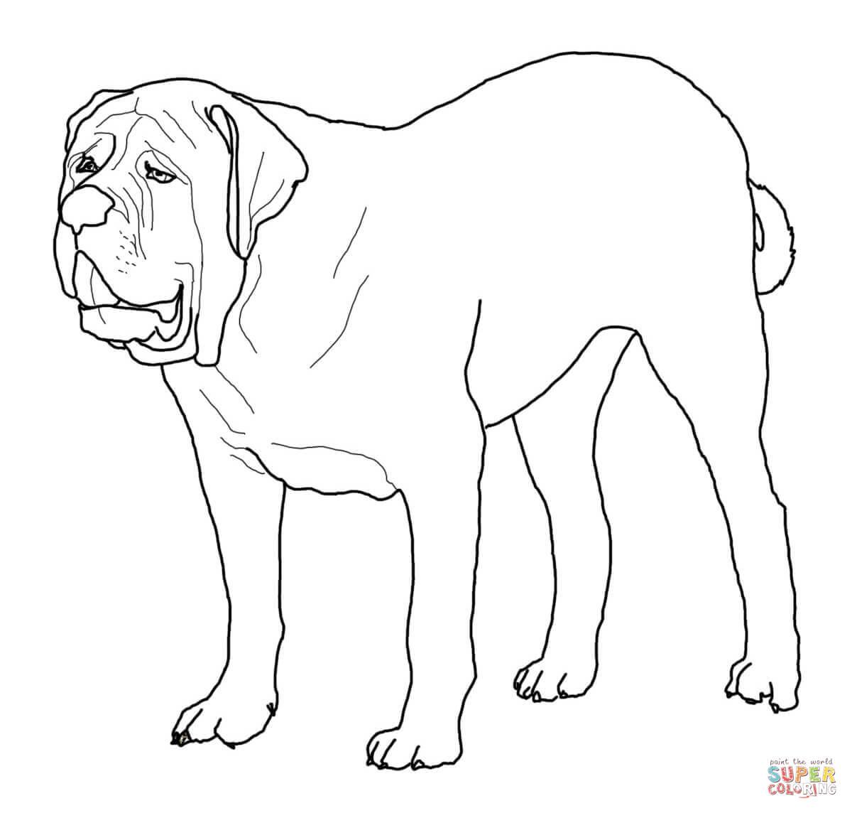 Old English Sheepdog coloring #4, Download drawings