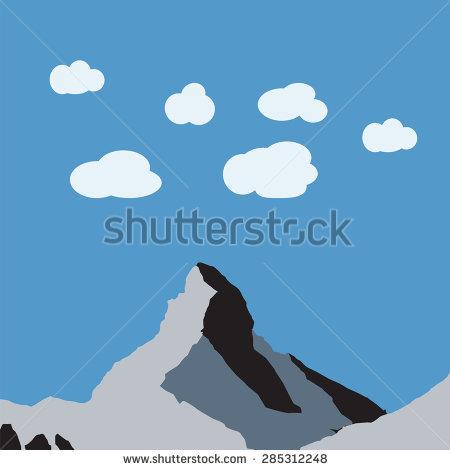 Matterhorn clipart #2, Download drawings