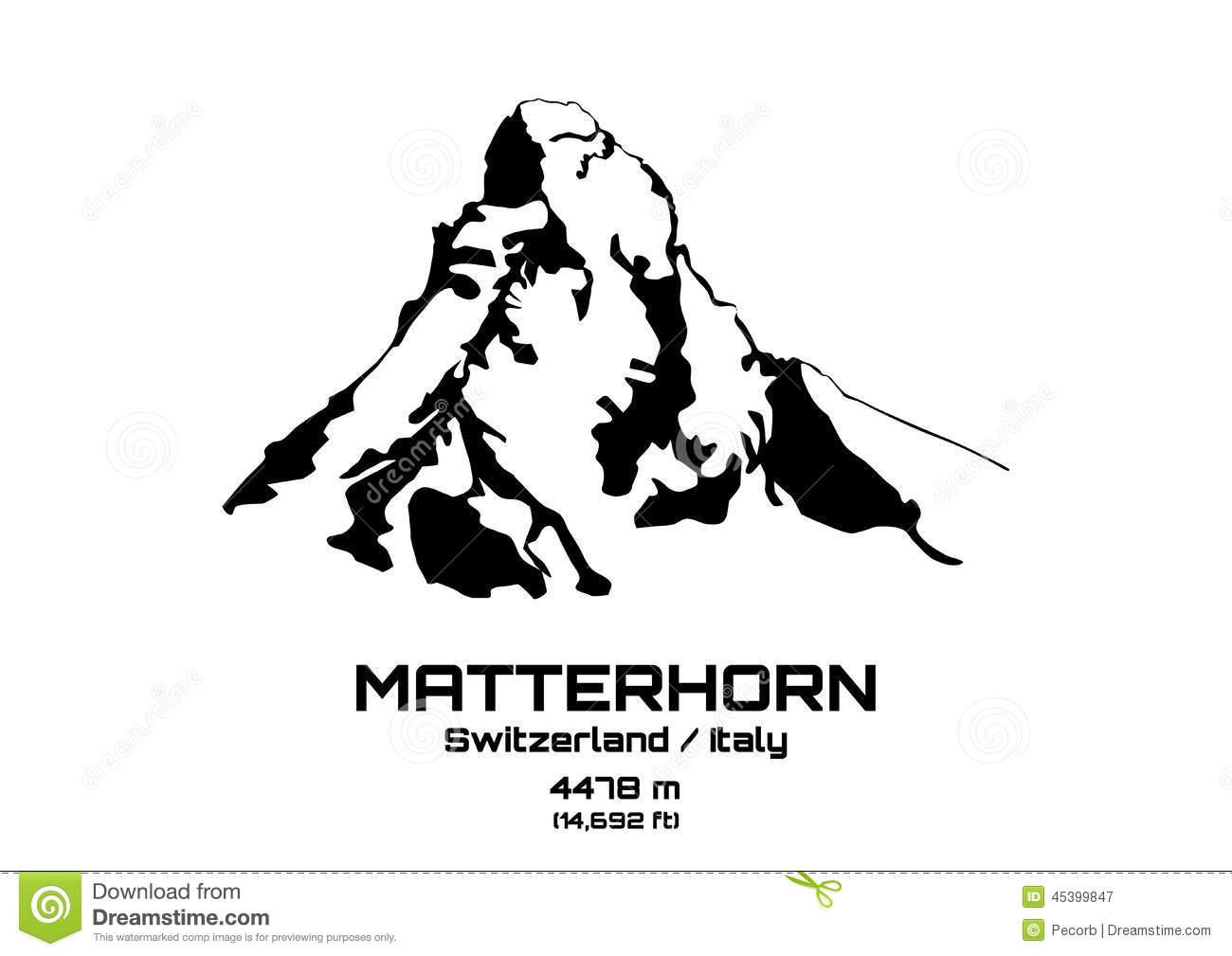 Matterhorn clipart #18, Download drawings