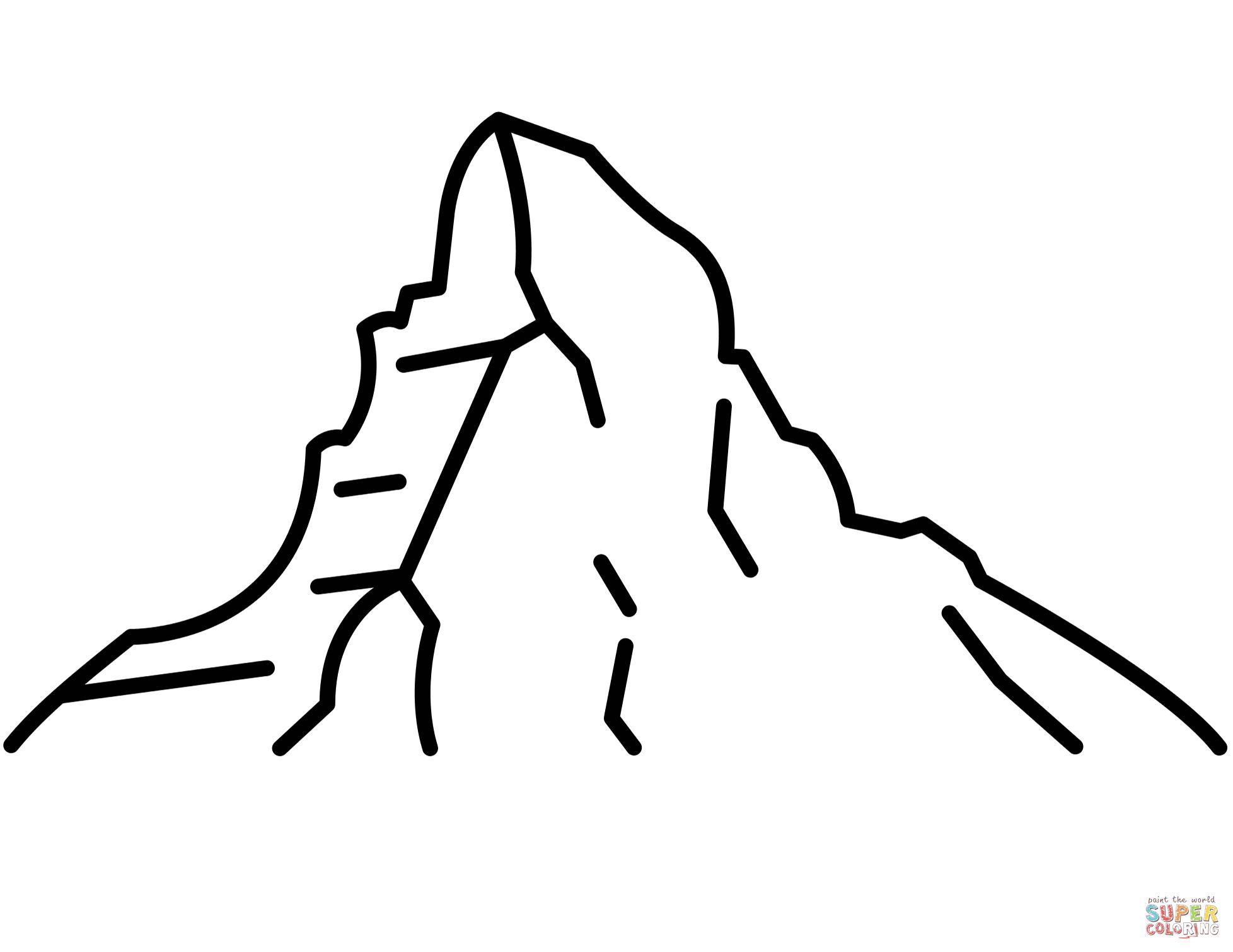 Matterhorn clipart #16, Download drawings