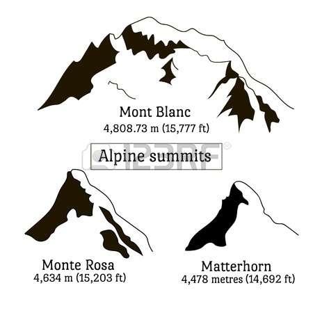 Matterhorn clipart #6, Download drawings