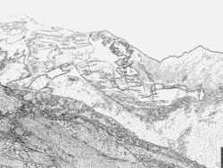 Matterhorn coloring #6, Download drawings