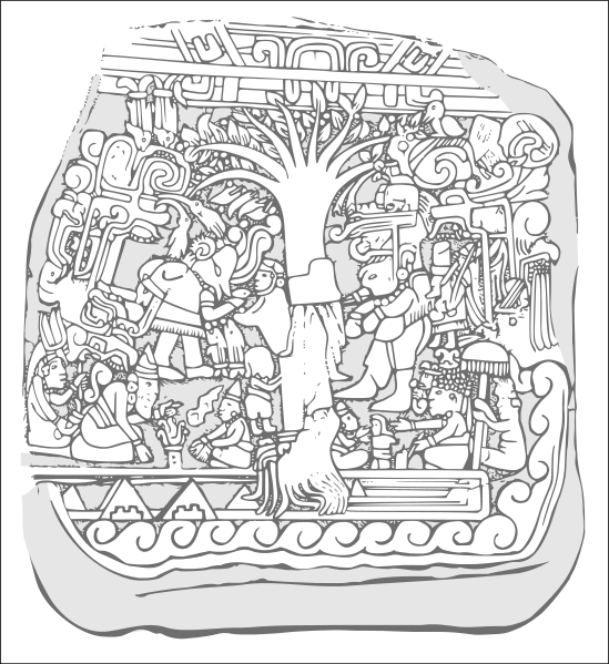 Mayan coloring #1, Download drawings