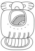 Mayan coloring #3, Download drawings