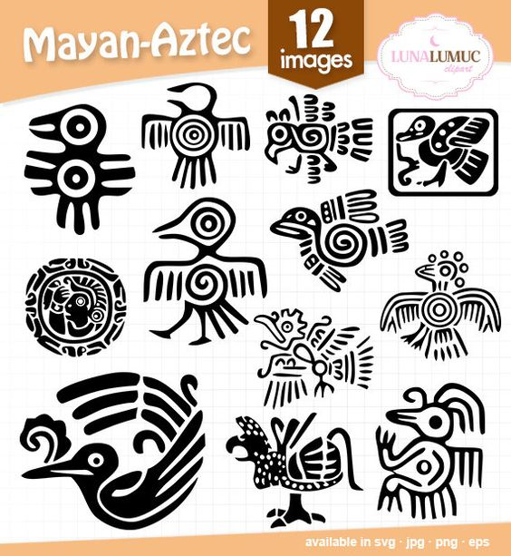 Mayan svg #9, Download drawings